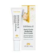 Derma E Evenly Radiant Dark Circle Eye Creme