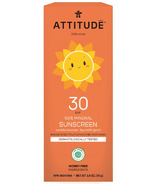 ATTITUDE Little Ones 100% Mineral Sunscreen Vanilla Blossom