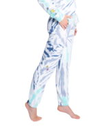 PJ Salvage Daydream Doodles Tie Dye Banded Pant Navy