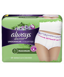 Always Discreet Incontinence Underwear Maximum Large