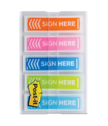Post-it Sign Here Arrow Flags Assorted