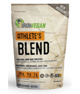 Iron Vegan Athlete's Blend Protein Powder Unflavoured