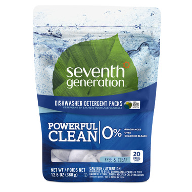 Seventh Generation Automatic Dishwasher Packs