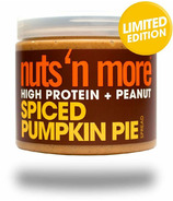 Nuts n More High Protein Peanut Butter Spiced Pumpkin Pie