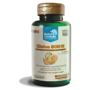 NutraCentials Daily Essentials Melon SOD NX
