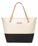 Petunia Pickle Bottom Downtown Tote Birch & Black