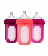 Boon NURSH 8oz Bottle Pink Multi