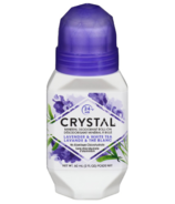 Crystal Mineral Deodorant Roll-On Lavender & White Tea