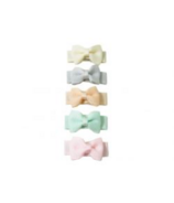 Baby Wisp Small Snap Tuxedo Bows Collection Pastel