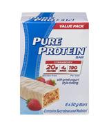 Barre protéinée Pure Protein fraise et yaourt grec