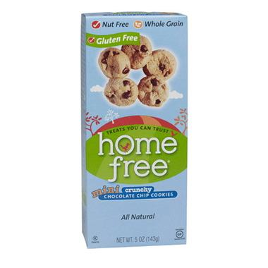 home free Mini Chocolate Chip Cookies