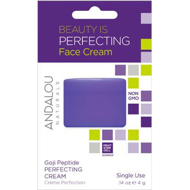 ANDALOU naturals Age Defying Goji Peptide Perfecting Cream Pod