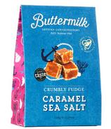 Buttermilk Caramel Sea Salt Fudge