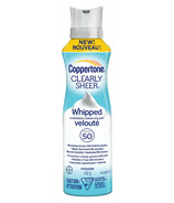 Coppertone Clearly Sheer Whipped Sunscreen SPF 50