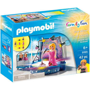 Playmobil Singer with Light Up Stage