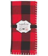 Now Designs Napkin Set Buffalo Check