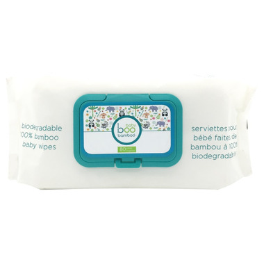 Baby Boo Bamboo Biodegradable 100% Bamboo Wipes