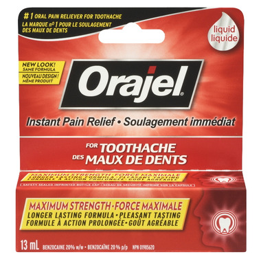 Orajel Maximum Strength Liquid