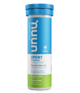Nuun Hydration Sport for Workout Lemon Lime