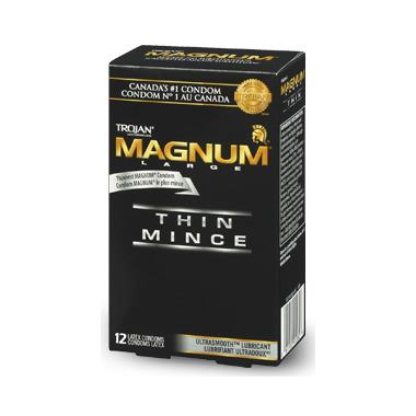 Trojan Magnum Thin Lubricated Condom