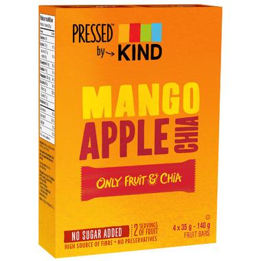 Pressed by KIND Mango Apple Chia Bars