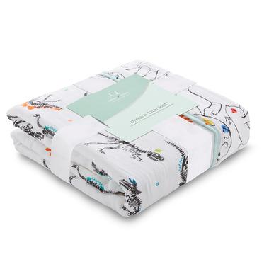 aden + anais Classic Dream Blanket Colour Pop Fossil
