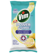 Vim Lemon Antibacterial Wipes