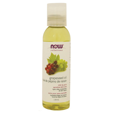 NOW Solutions 100% Pure Grapeseed Oil
