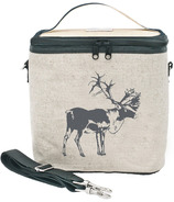 SoYoung Raw Linen Grey Moose Large Cooler Bag