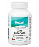 Rexall Zinc Lozenges Chewable Cherry