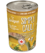 Sprague Simply Cauli avec coeurs de chanvre & Soupe au curcuma