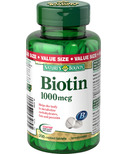 Nature's Bounty Biotin Value Size