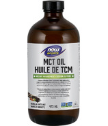 NOW Foods MCT Oil Vanilla Hazenut