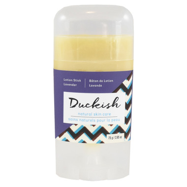 Duckish Natural Skin Care Lavender Lotion Stick