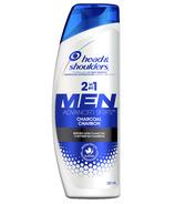 Head & Shoulders Men Advanced 2in1 Charcoal Shampoo to Deep Clean & Detox