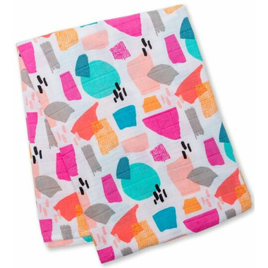 Lulujo Designer Collection Swaddling Blanket