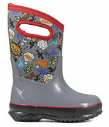 Bogs Classic Insulated Boots Super Hero Grey Multi