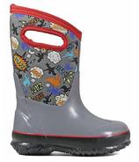 Bogs Classic Insulated Boots Super Hero Grey Multi