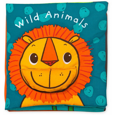 Melissa & Doug K\'s Kids Soft Activity Book Wild Animals