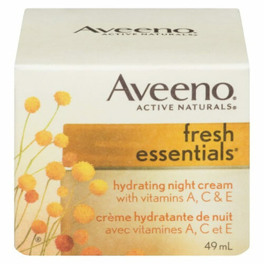 Aveeno Fresh Essentials Hydrating Night Cream With Vitamins A C And E