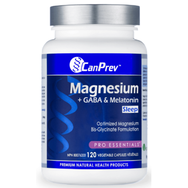 CanPrev Magnesium + GABA & Melatonin for Sleep