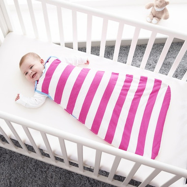 Grobag Baby Sleep Bag 1.0 Tog Magenta Ribbons