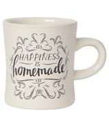 Now Designs Mug Diner Homemade Happiness