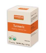 Rootalive Organic Turmeric Tea