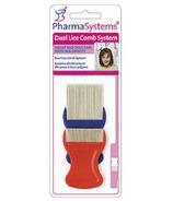 PharmaSystems Système de peigne à poux double