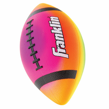 "Franklin Sports Mini 7"" Rainbow PVC Vibe Football"