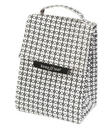 Keep Leaf Organic Cotton Lunch Bag Black & White