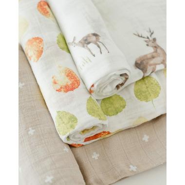 Little Unicorn Cotton Muslin Swaddle Oh Deer