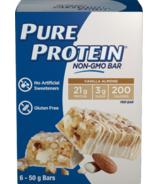 Pure Protein Vanilla Almond Non-GMO Bars