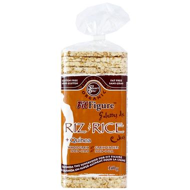 Smartbite Organic Rice and Quinoa Cakes